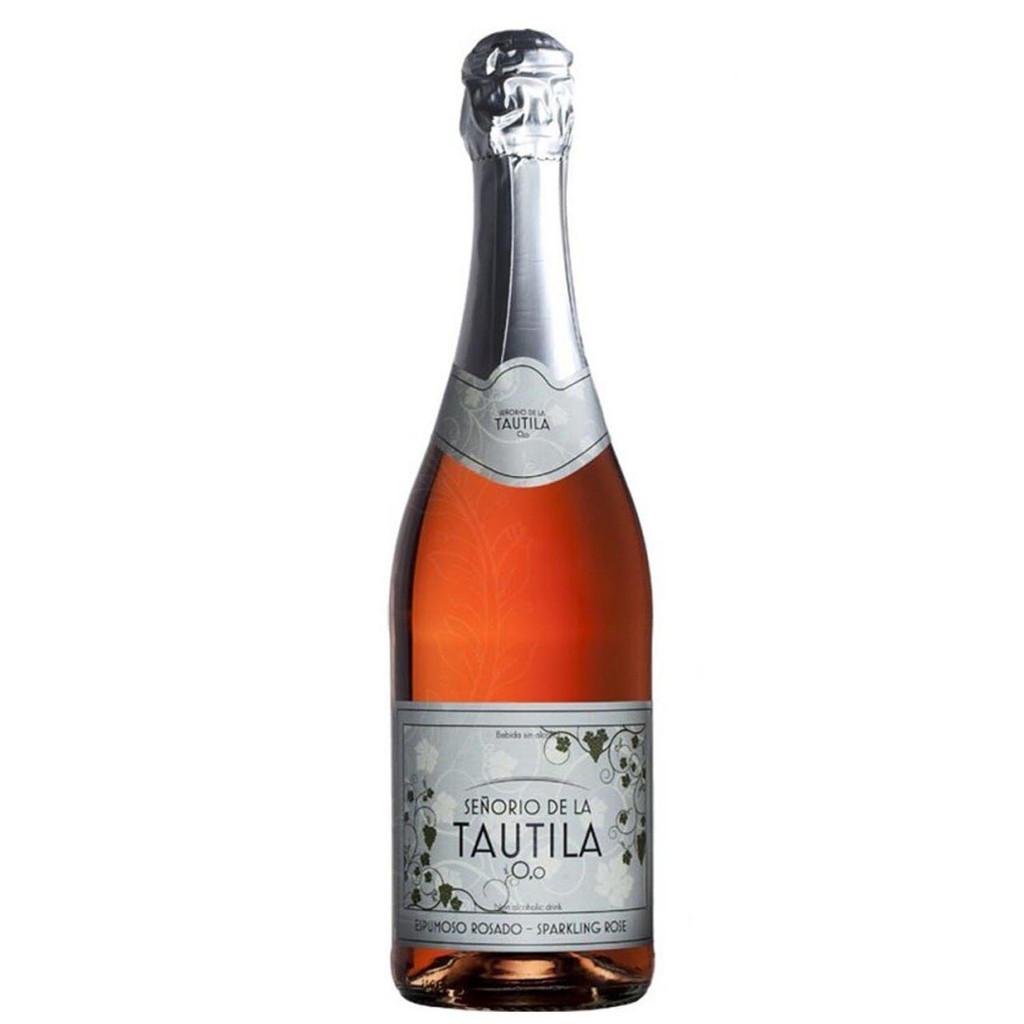 Senorio de la Tautila Espumoso Rosado Non-Alcoholic Sparkling Rose Wine 750 mL