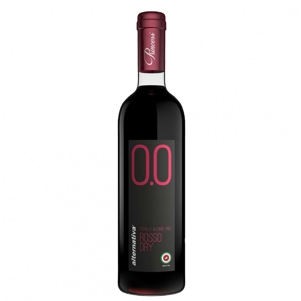 Princess Rosso Dry Non-Alcoholic Red Wine 750 mL