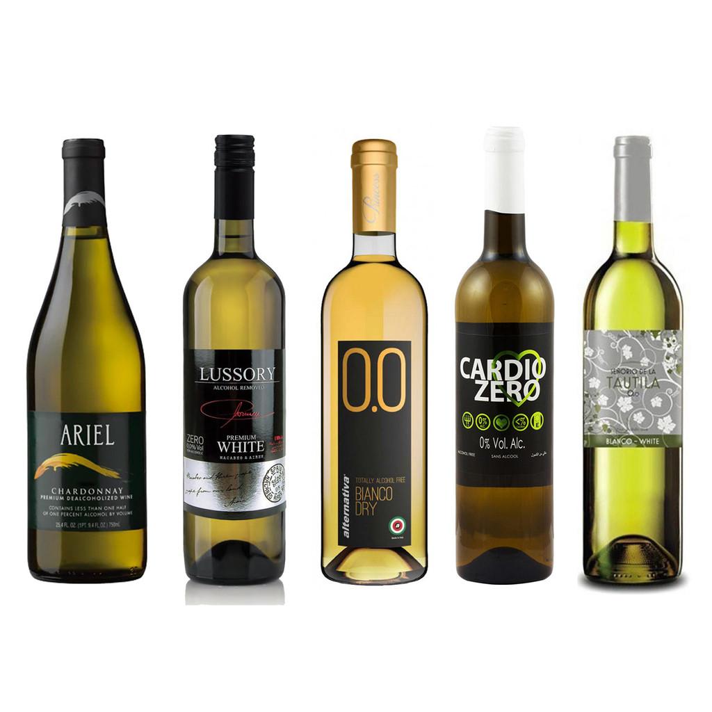 Non-Alcoholic White Wine Sampler Set