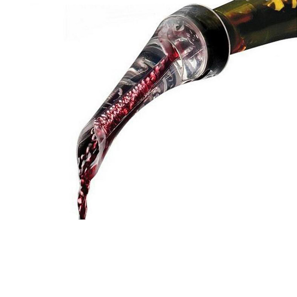 Eagle Oxygenating Wine Pourer with Red Wine