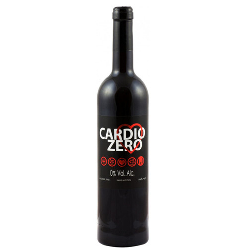 Elivo Cardio Zero Red Non-Alcoholic Red Wine 750 mL