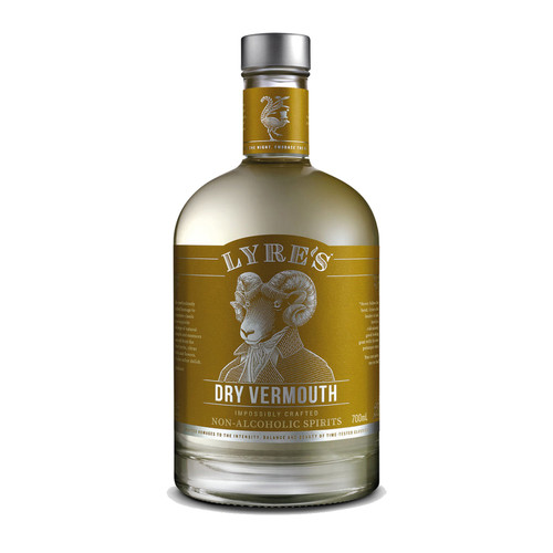 Lyre's Dry Vermouth (Apreritif Dry) Non-Alcoholic Spirit (Free Shipping)
