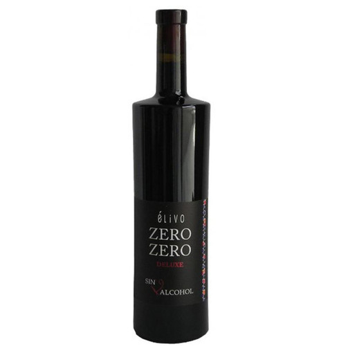 Elivo Zero Zero Deluxe Red Non-Alcoholic Red Wine 750 mL
