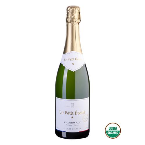 Le Petit Étoilé Sparkling Chardonnay Non-Alcoholic Sparkling White Wine