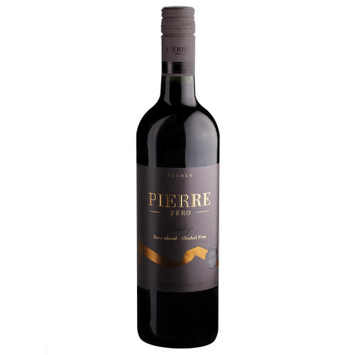 Pierre Chavin Prestige Merlot Rouge Non-Alcoholic Red Wine 750 mL