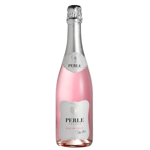 Pierre Chavin Perle Rose Non-Alcoholic Sparkling Wine (200 mL $5 Sale)