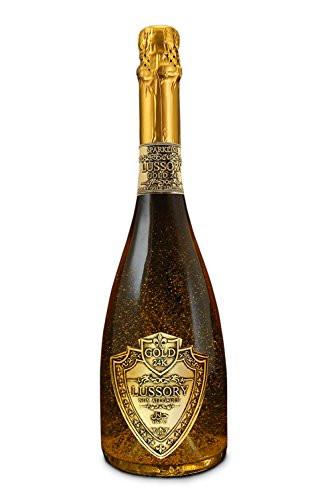 Lussory Gold 24 Karat Non-Alcoholic Sparkling Wine