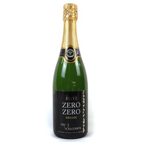 Elivo Zero Zero Deluxe Non-Alcoholic Sparkling White Wine 750 mL