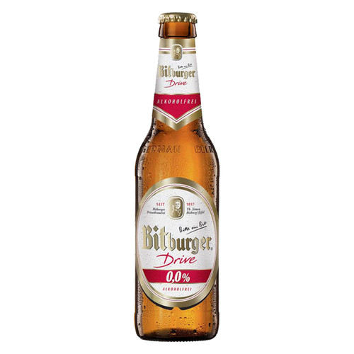 Bitburger Drive Non-Alcoholic Malt Beer 330 mL