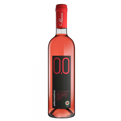 Princess Rosato Dry Non-Alcoholic Rose Wine 750 mL
