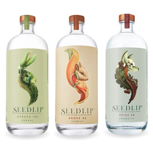 Seedlip Non-Alcoholic Spirits Sampler 700 mL Each (Free Shipping)