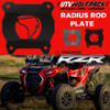 (2014-16)Polaris RZR XP1000/XP1000 Turbo Radius Rod Plate Heavy Duty