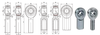 5/8-18 4130 Chromoly Spherical Rod End Bearing
