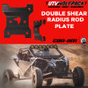 """(2017-20)Can Am X3 72"""" Model Stock Replacement bolt on HD kitCan Am Maverick X3 Rear Radius Rod Plate (DOUBLE SHEAR)"""