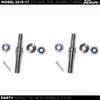 Polaris Rzr Tie Rod Spindle Stud Stainless Steel (pair)