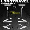 (2014-20)Polaris RZR XP1000 / Turbo Long Travel Suspension Kit +3 Heavy Duty
