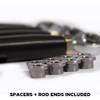 (2018-20)Polaris RZR XP1000 Turbo S Radius Rods Aluminum Heavy Duty