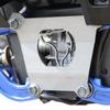 Polaris RZR Turbo S rear plate powder coated raw