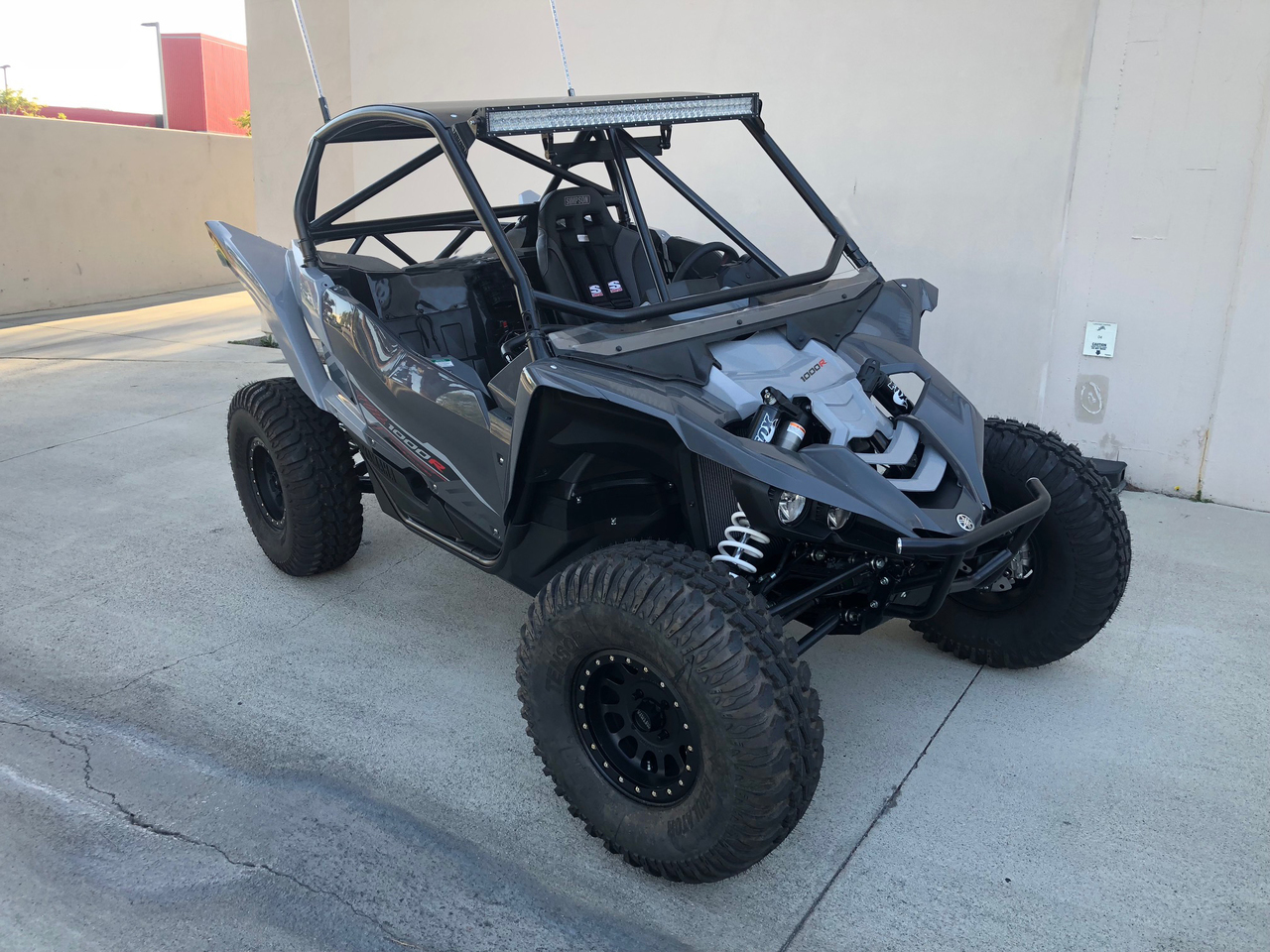 Yamaha YXZ Chromoly Roll Cage with Aluminum Roof (16-19)