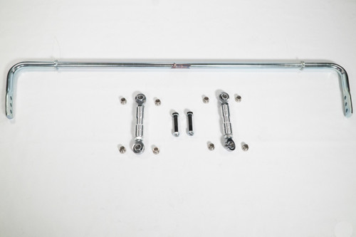 Can Am X3 rear anti sway bar with links, spacers, and mounting hardware.