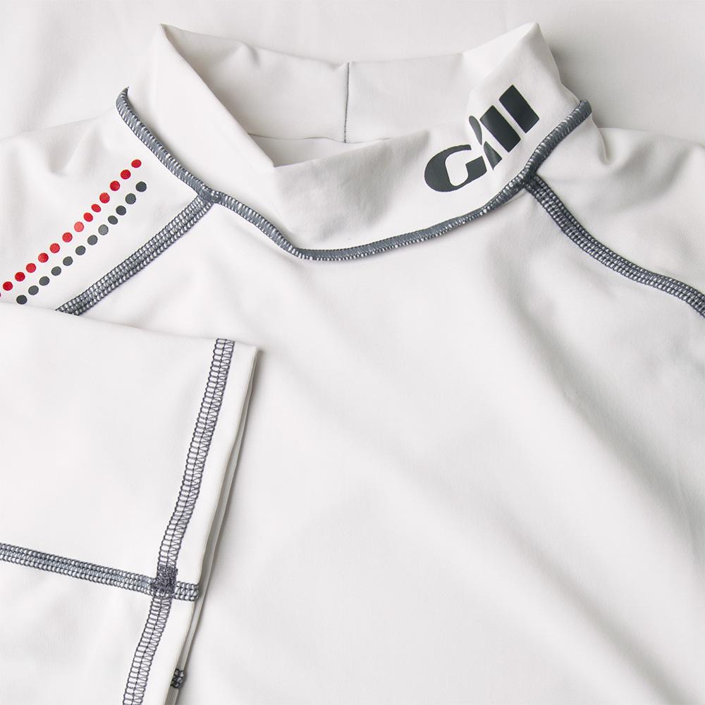 Men's Pro Rash Vest - Short Sleeve (2018) - 4431-WHI01-3.jpg