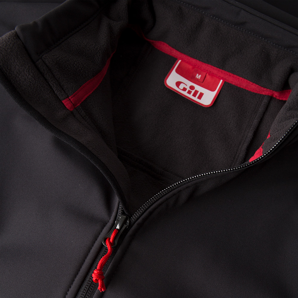 Men's Team Softshell Jacket (2018) - 1613-GRA01-7.jpg