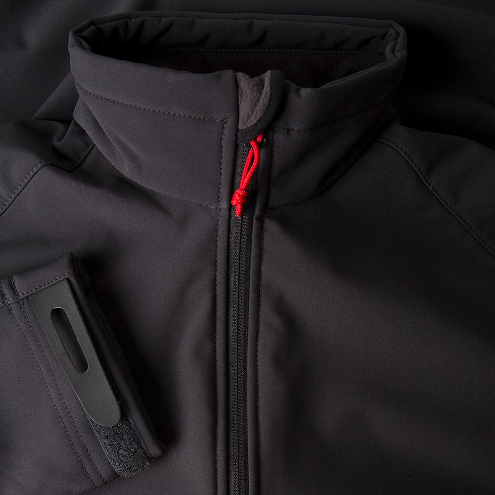 Men's Team Softshell Jacket (2018) - 1613-GRA01-4.jpg