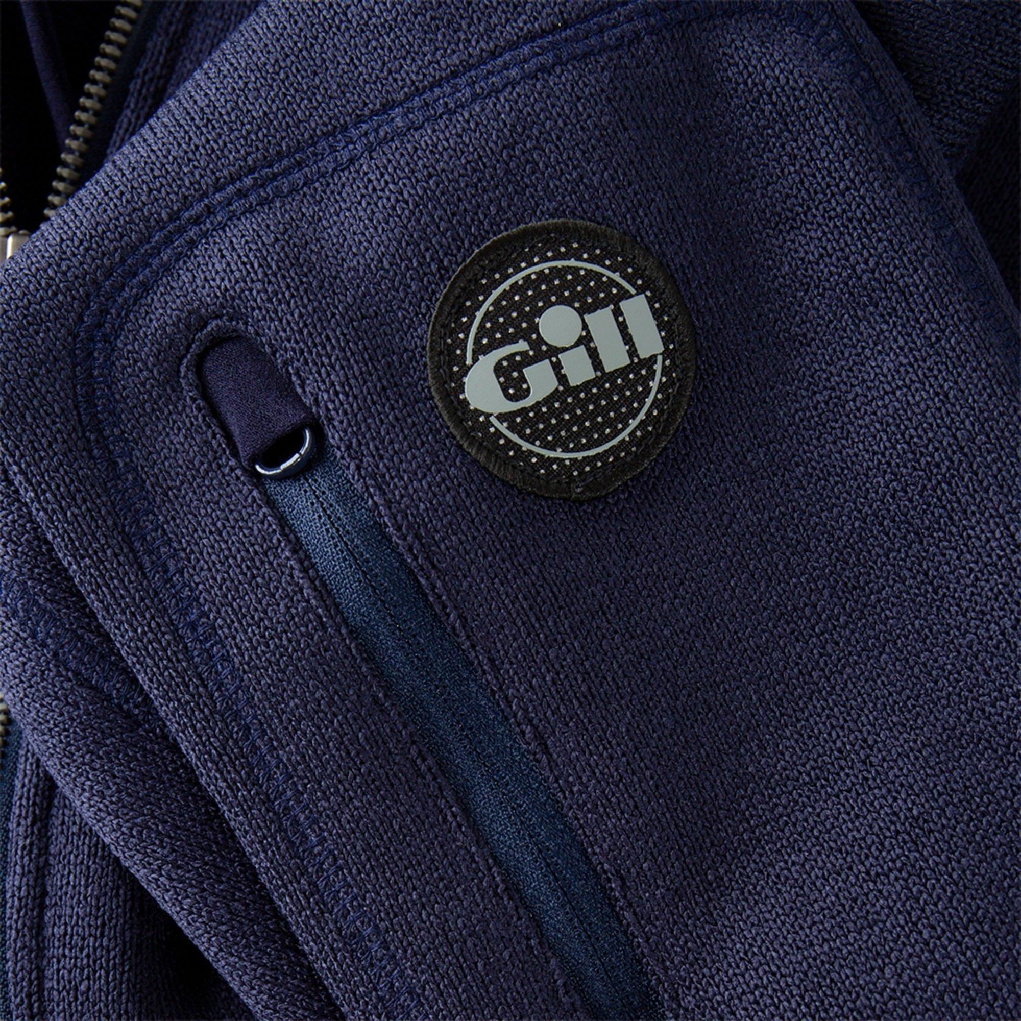 Women's Knit Fleece Jacket - 1493W-NAV06-6.jpg