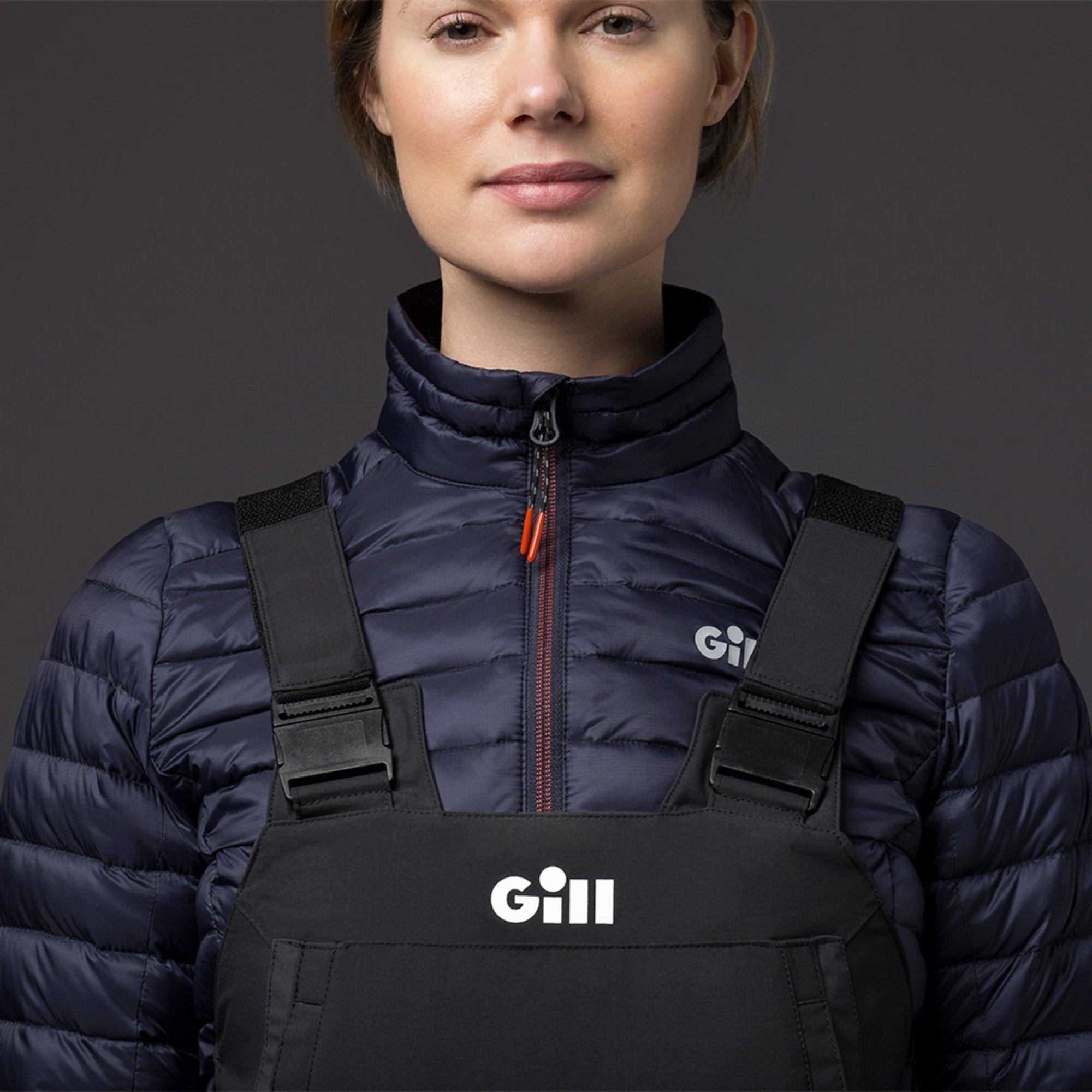 Women's Hydrophobe Down Jacket - 1065W-NAV20-MODEL-2.jpg