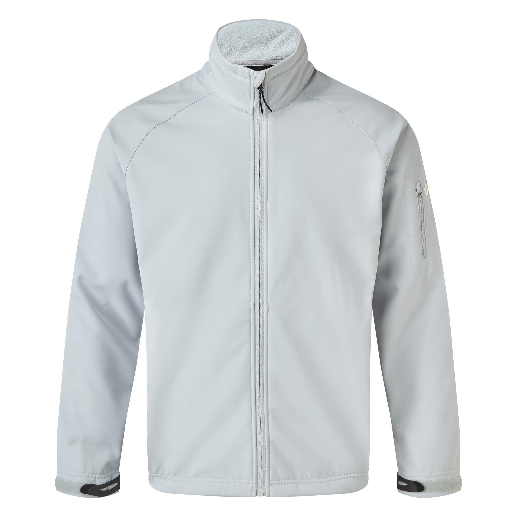 Men's Team Softshell Jacket - 1614-GRE14-1.jpg