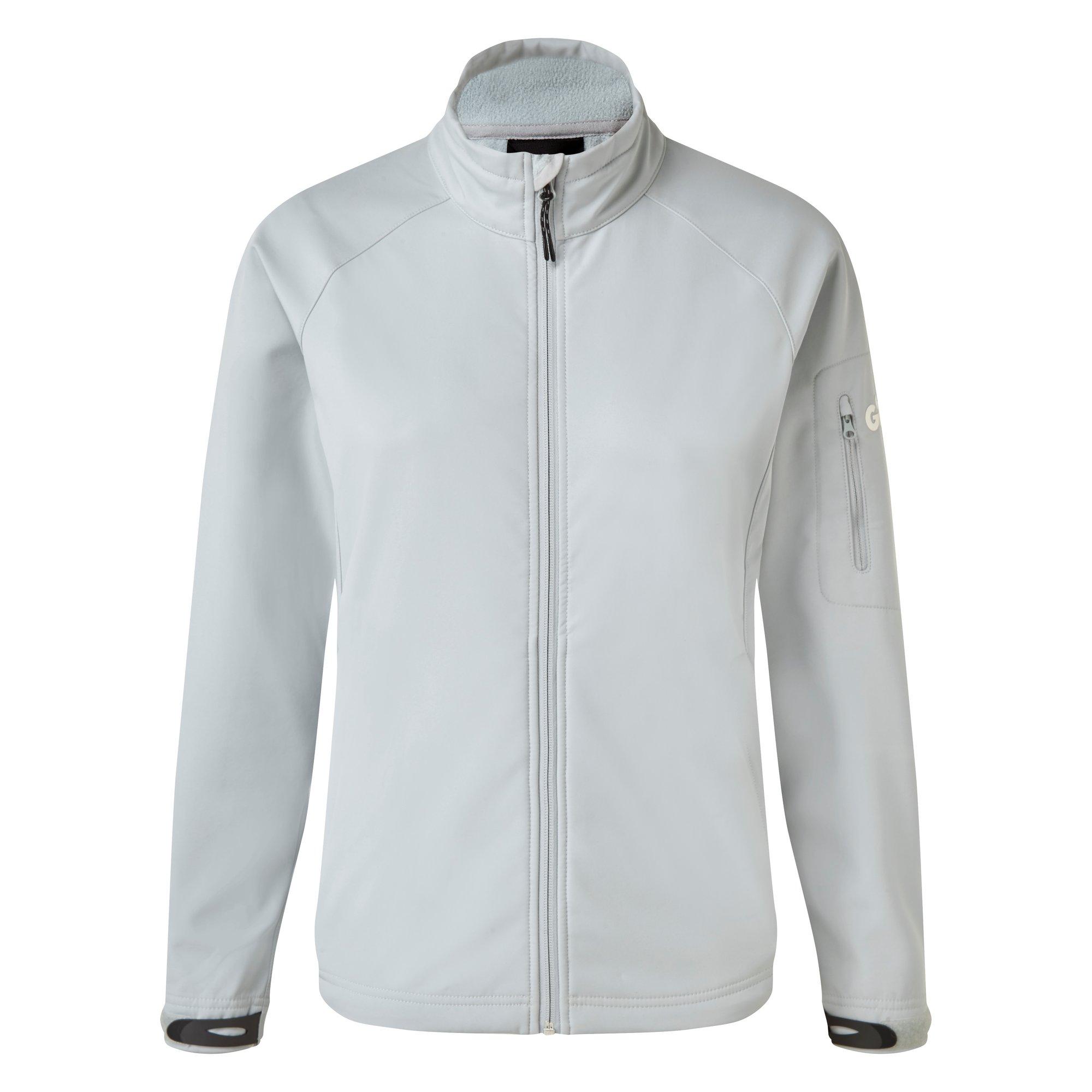 Women's Team Softshell Jacket - 1614W-GRE14-1.jpg