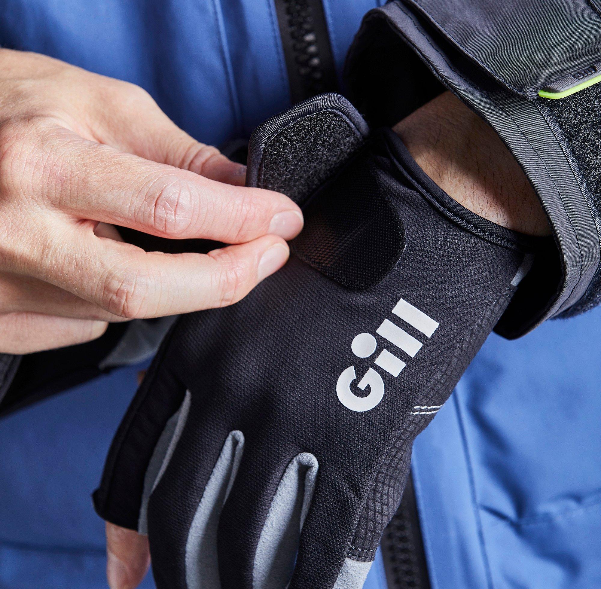 Junior Deckhand Gloves - Long Finger - 7053-BLK01-MODEL.jpg