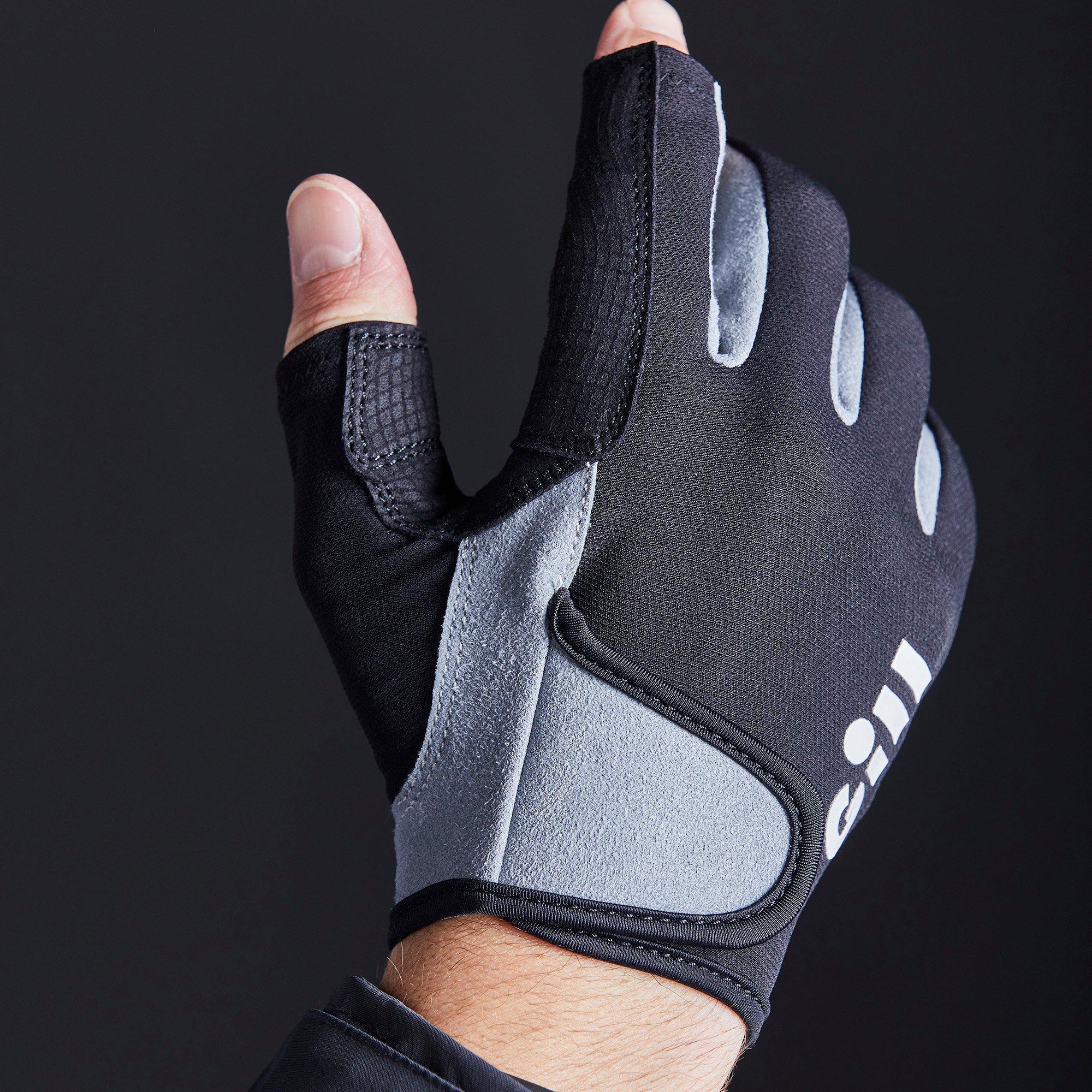 Junior Deckhand Gloves - Long Finger - 7053-BLK01-MODEL_2.jpg