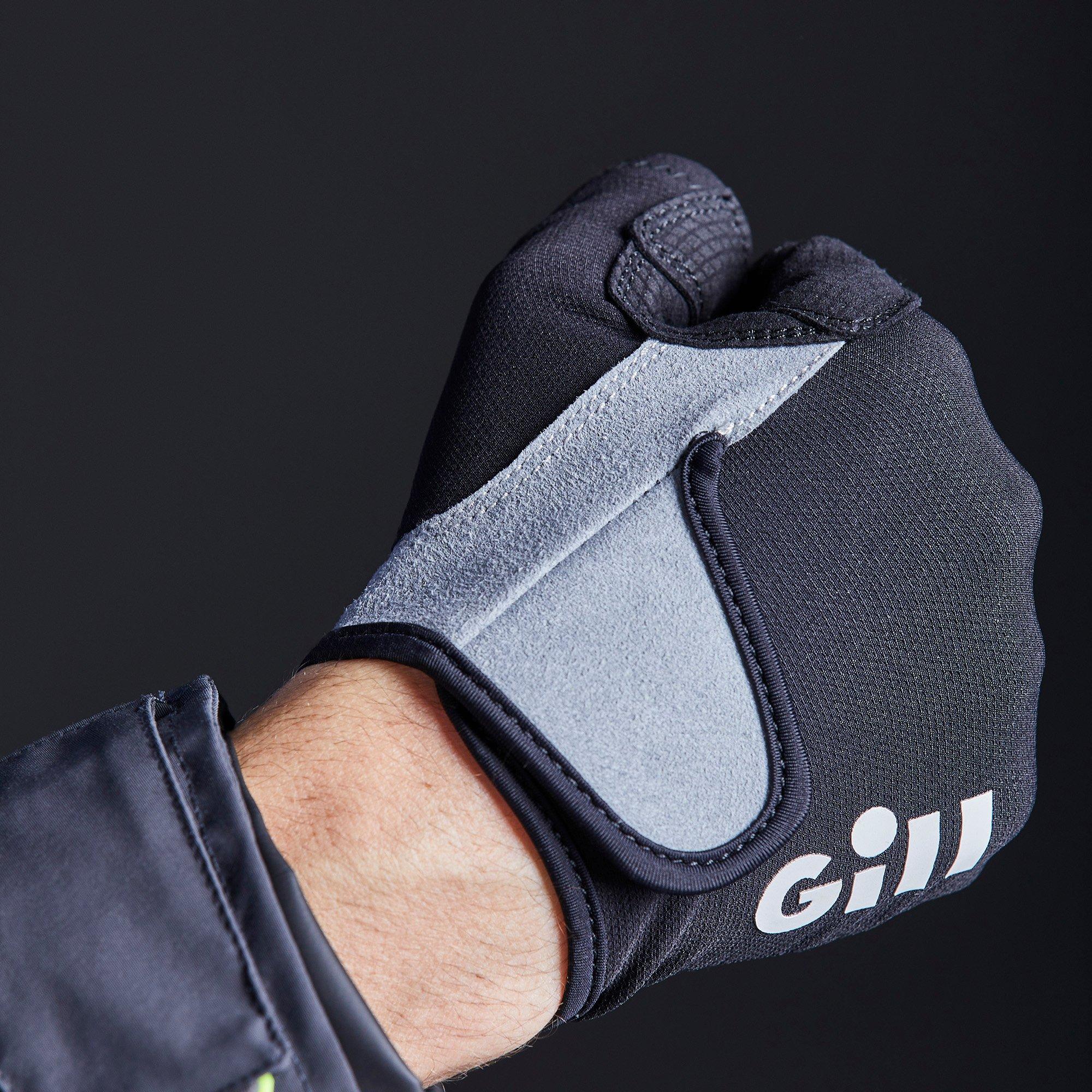 Junior Deckhand Gloves - Long Finger - 7053-BLK01-MODEL_5.jpg