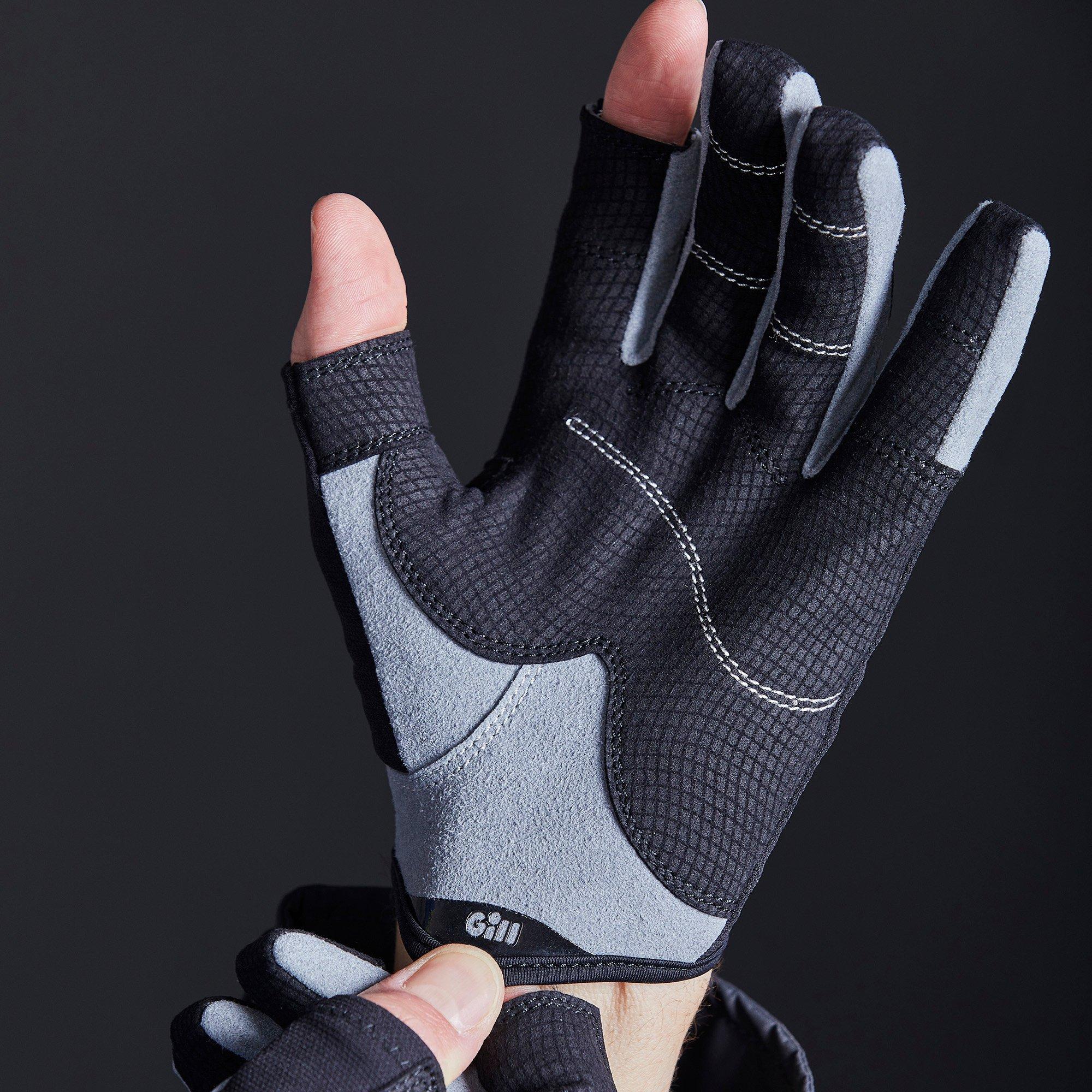 Junior Deckhand Gloves - Long Finger - 7053-BLK01-MODEL_4.jpg