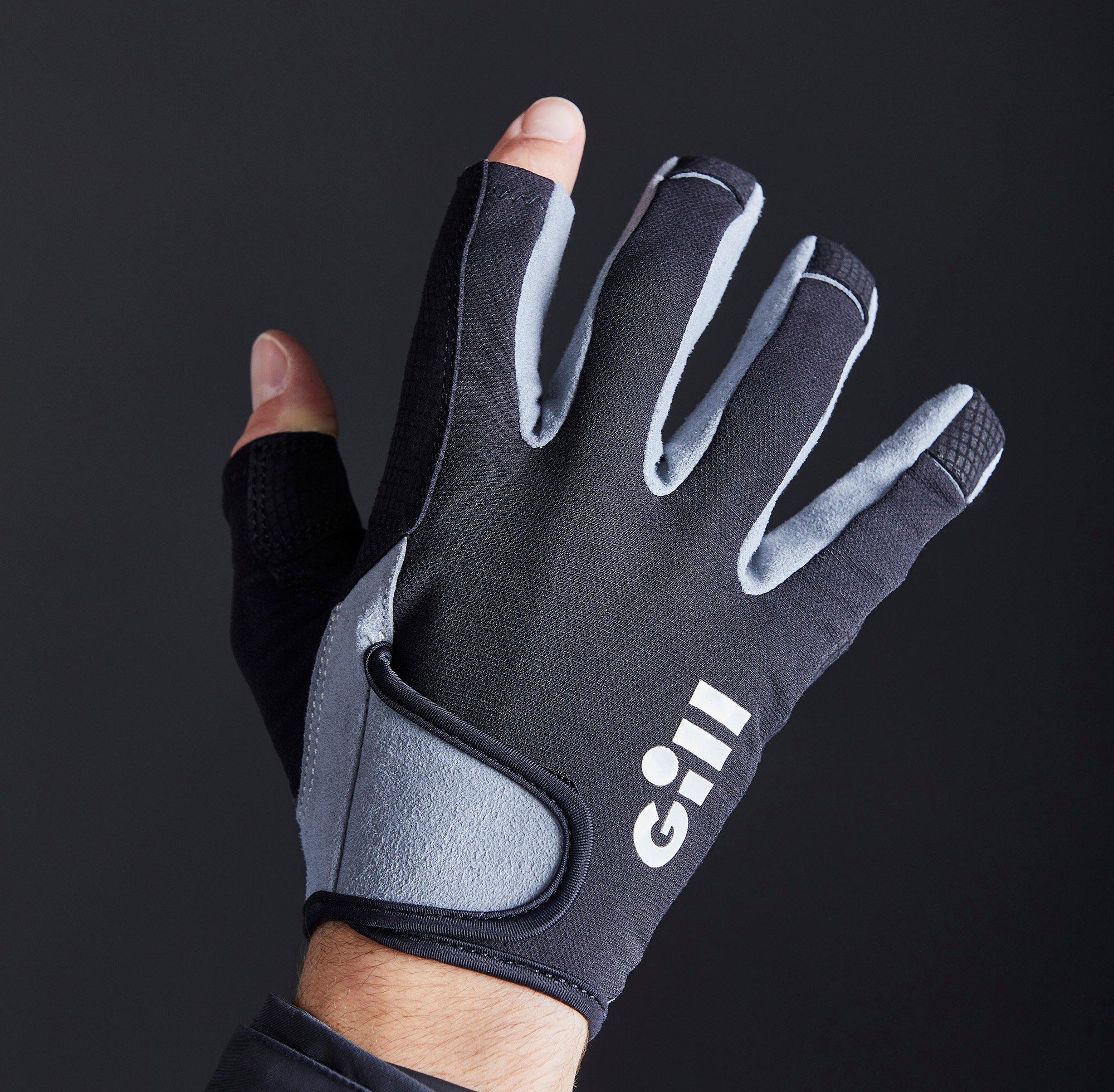 Junior Deckhand Gloves - Long Finger - 7053-BLK01-MODEL_3.jpg