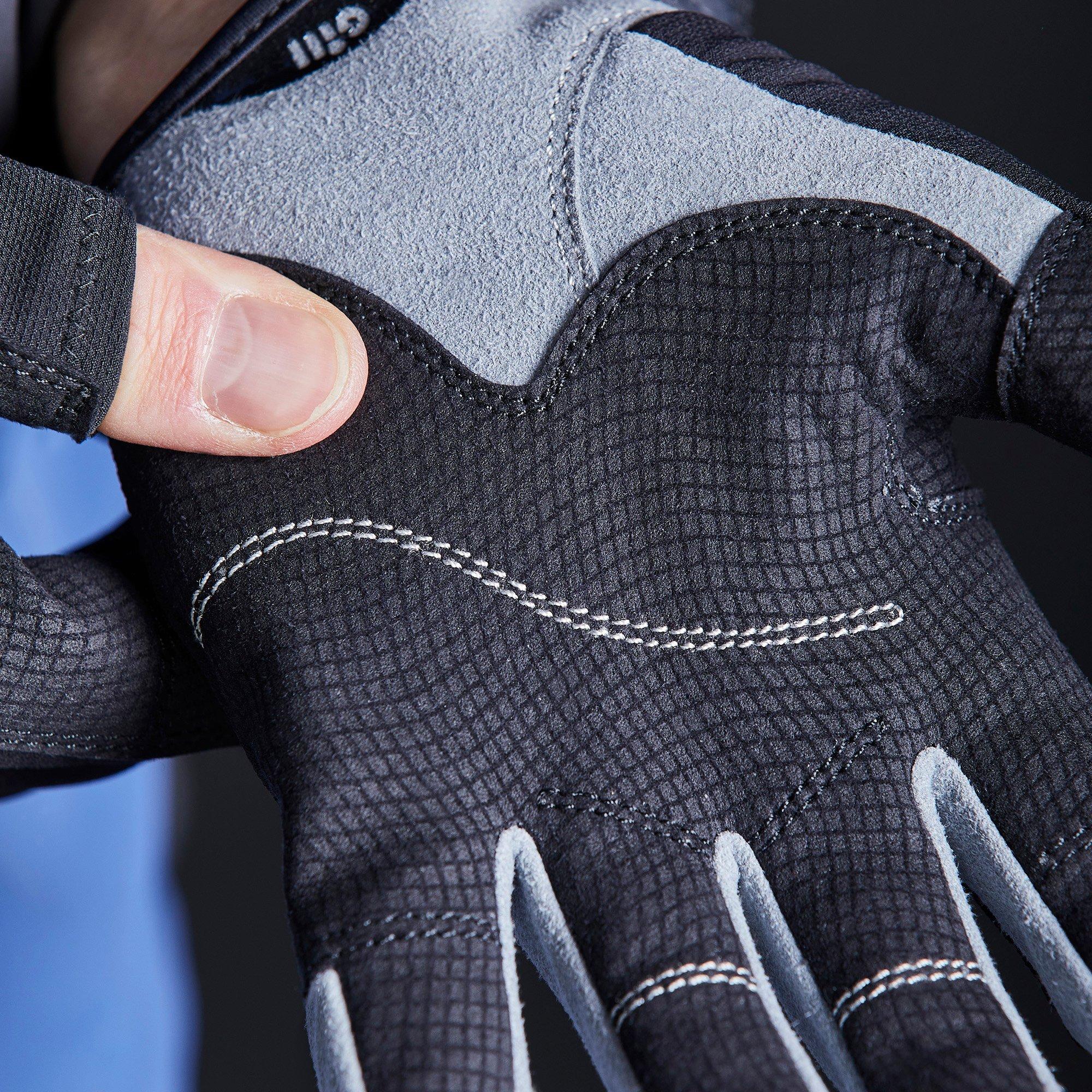 Junior Deckhand Gloves - Long Finger - 7053-BLK01-MODEL_6.jpg