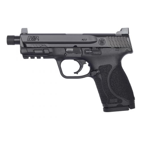 m&p9 2.0 compact threaded left side view