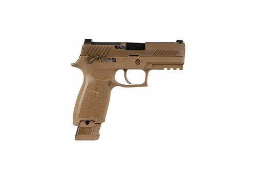 SIG SAUER M18 COMMEMORATIVE RIGHT HAND SIDE VIEW