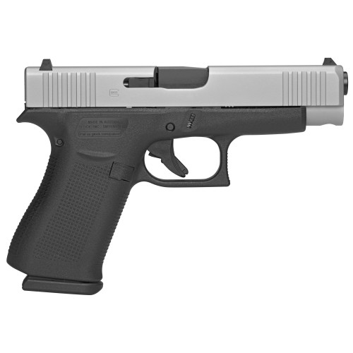 glock 48 silver right side view