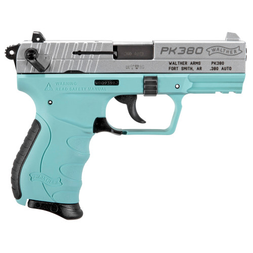 WALTHER PK380 ANGEL BLUE RIGHT SIDE VIEW