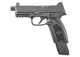 fn 509 tactical left side view extended mag