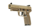 five seven fde angled front left side view