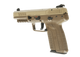 five seven fde angled rear left side view