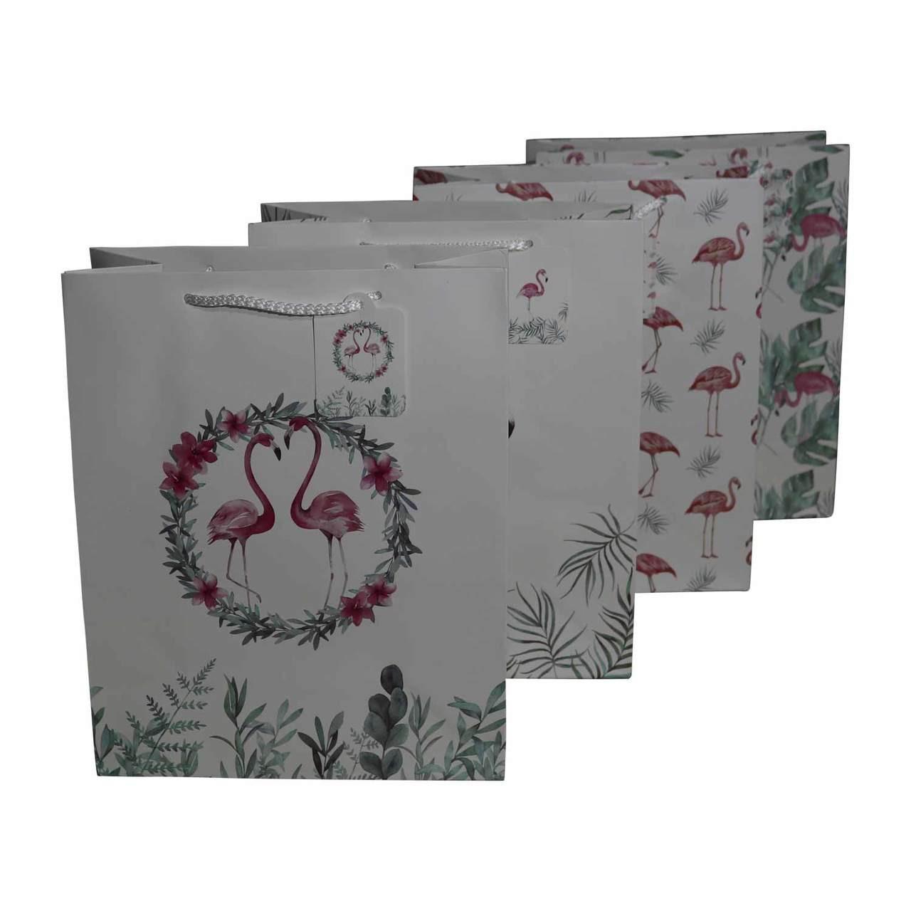 KRL2359M14 Gift Bags - Flamingos - Bali Trading Wholesale 63642735a