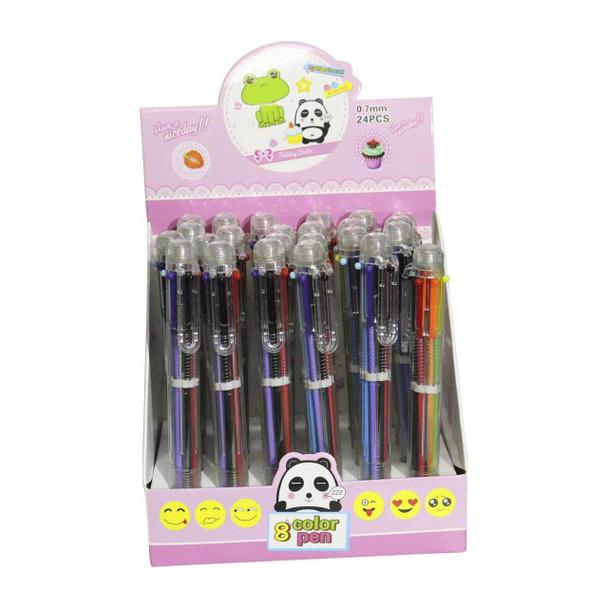 SC10021 Writing Pens set of 24 - 6 Multi Colour Pen