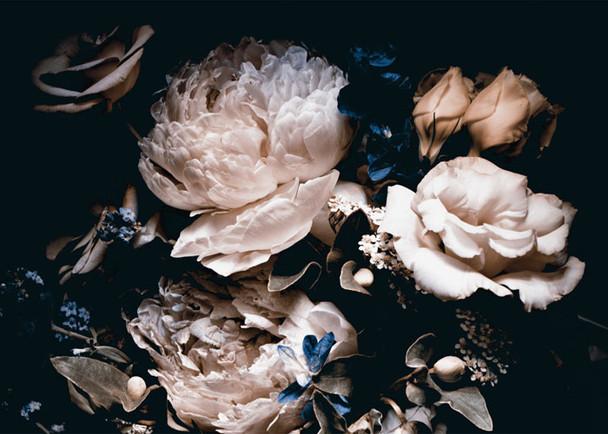 PLACEML25 Disposable Placemats - Floral