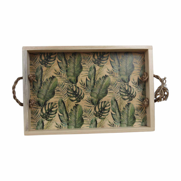 TRAYPALM19 Wooden Tray - Palm