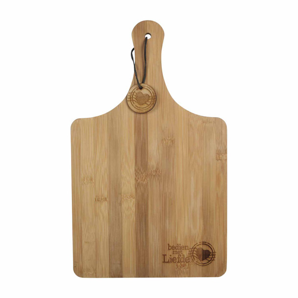 BAMBML Engraved Bamboo Cutting Board - Bedien met Liefde
