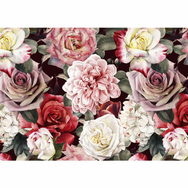 PVCPROSE01 PVC Placemat - Rose